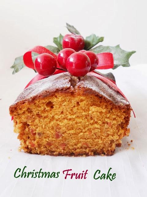 Christmas Fruit Cake / Kerala Fruit Cake / Plum Cake