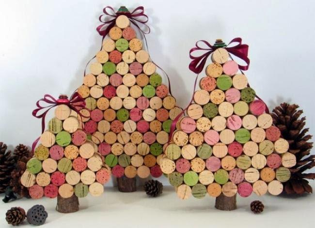 Decoraci n rboles de navidad diferentes estilos - Arboles de navidad de diferentes materiales ...