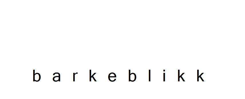Barkeblikk