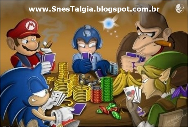Sonic Mario Zelda donkey kong