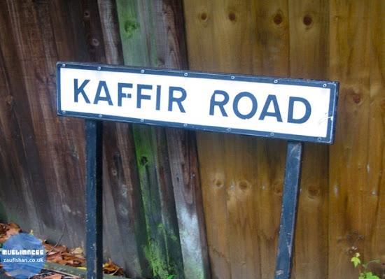 kaffir road infidel christianity jesus