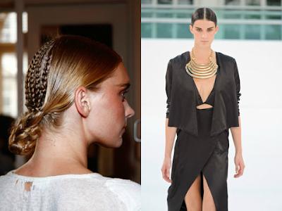 Get The Look: ghd for Sass & Bide, London Fashion Week ...