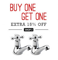 Buy Taps & Faucets upto 77% off & Buy 1 & Get 1 Free & Extra 15% off : buytoearn
