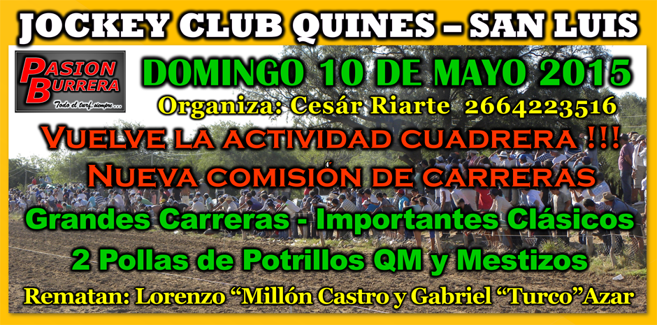 QUINES - 10 DE MAYO