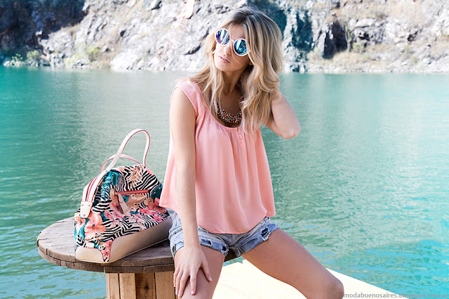 Looks de moda verano 2016 Af Jeans moda verano mujer.