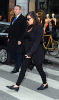 Kim Kardashian strolling in Paris