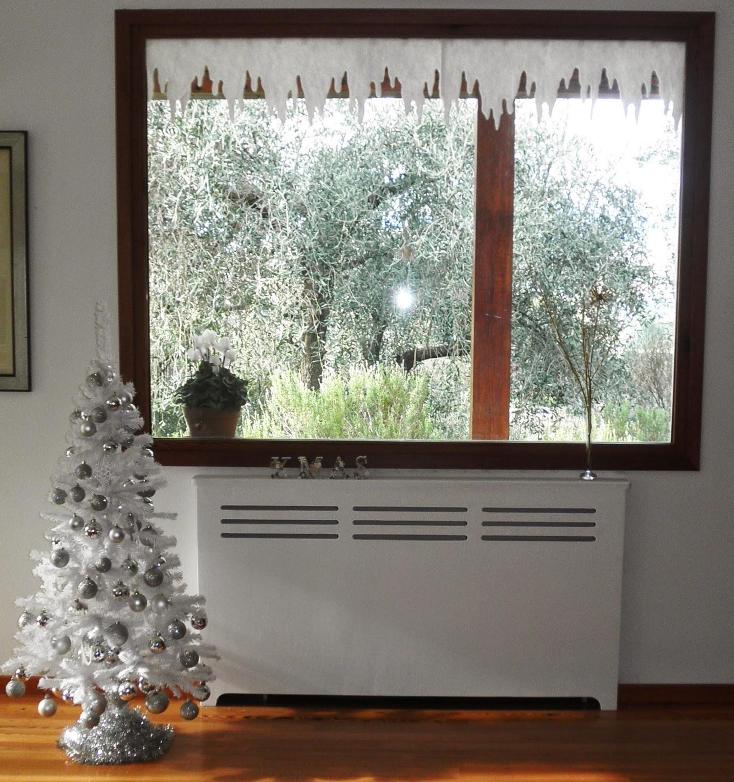 Claudialand buon natale tra addobbi e pacchetti - Addobbare le finestre per natale ...