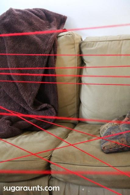 Motor Planning Spider Web Maze Fine Motor Eye Hand