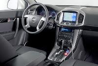 Fotografie detaliu interior Chevrolet Captiva