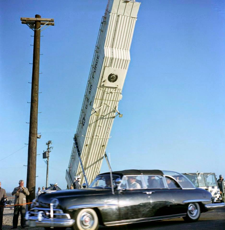 JFK bubbletop California 3/23/62