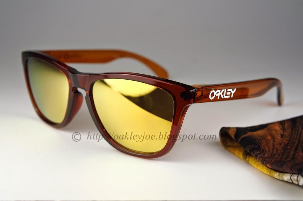 Oakley Frogskins Fire Iridium