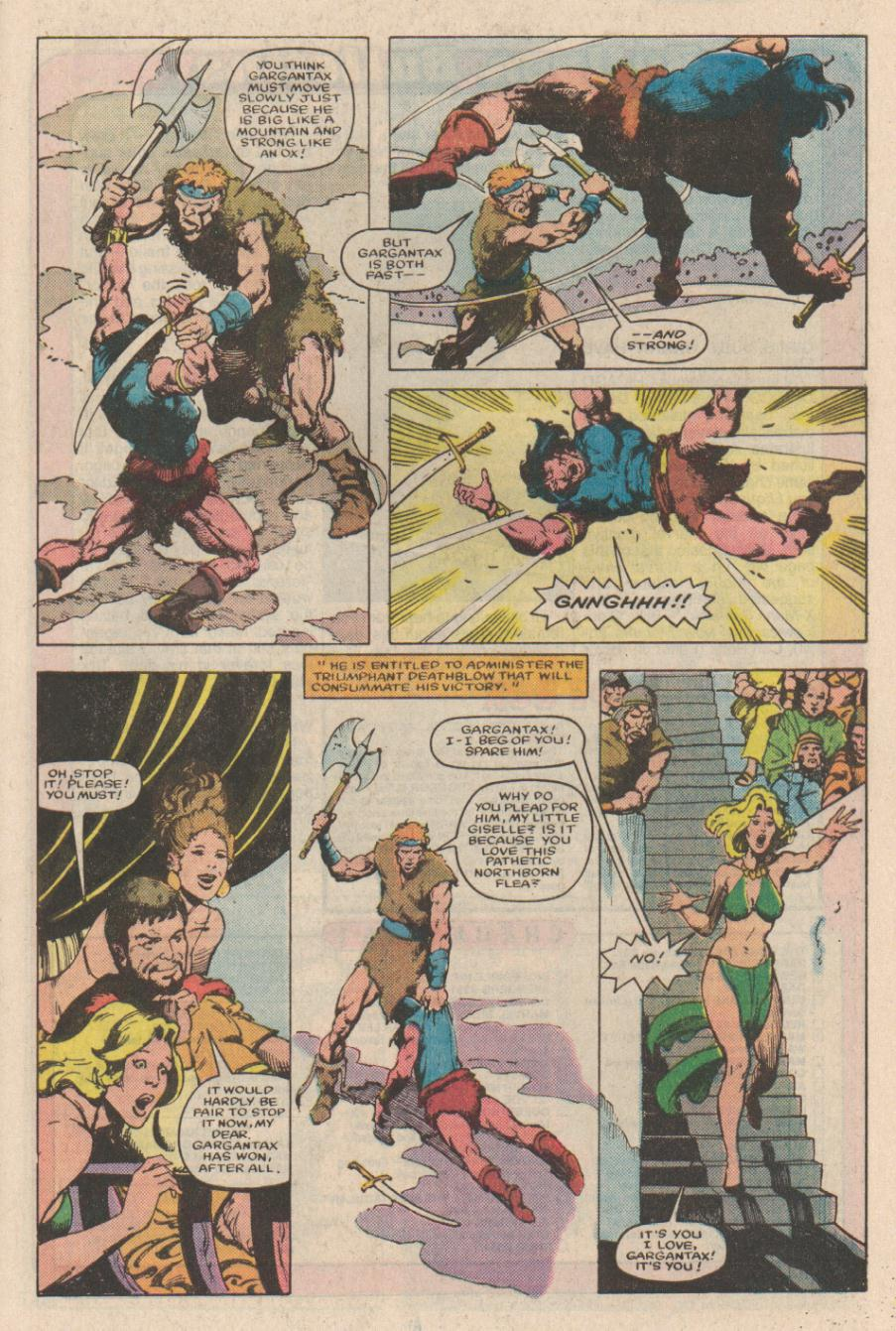 Conan the Barbarian (1970) Issue #166 #178 - English 21