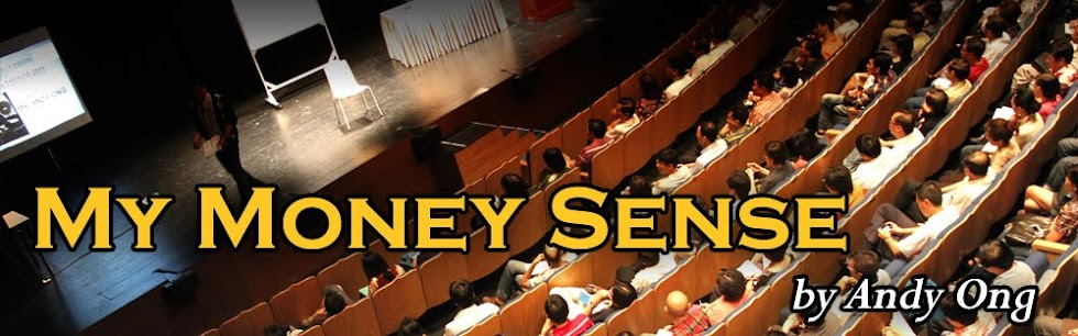 My Money Sense by Andy Ong