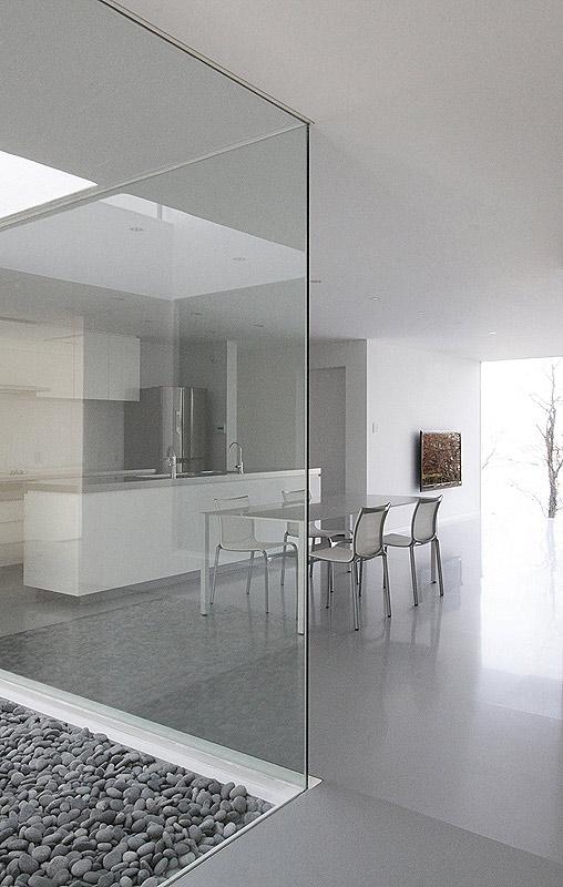 Interiores minimalistas la casa con vistas de takashi - Casas minimalistas interiores ...