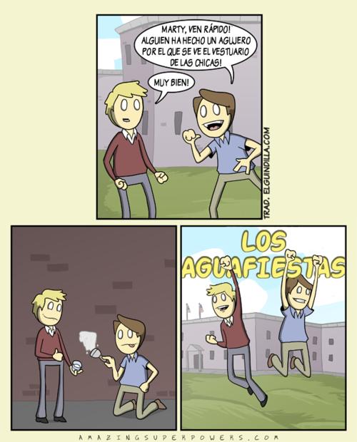 Los aguafiestas