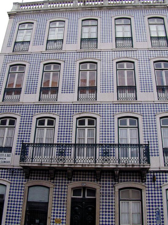 Fachada De Azulejos Casa De Amados