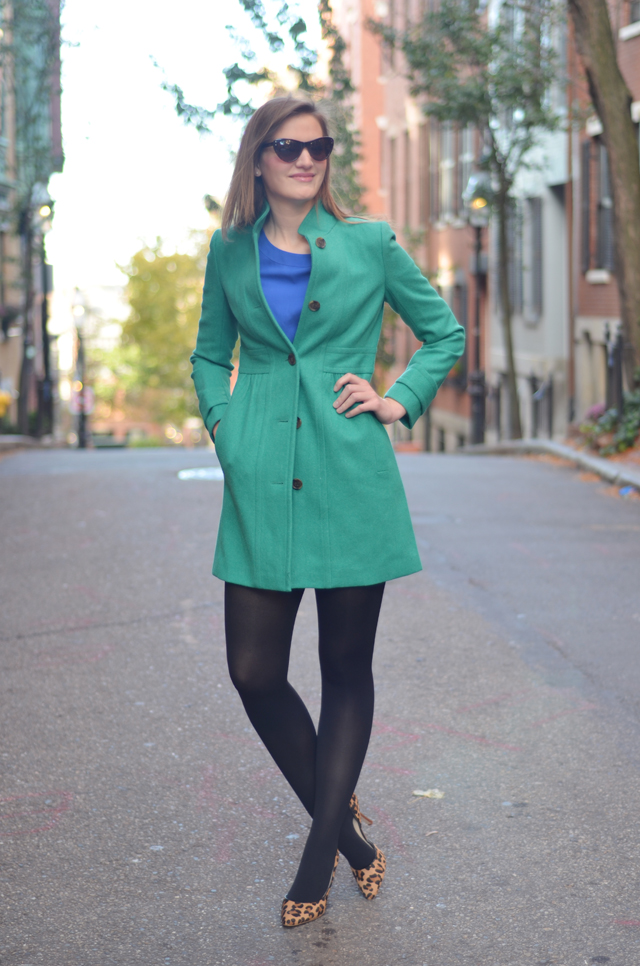 J.Crew Factory Skirted Dress Coat