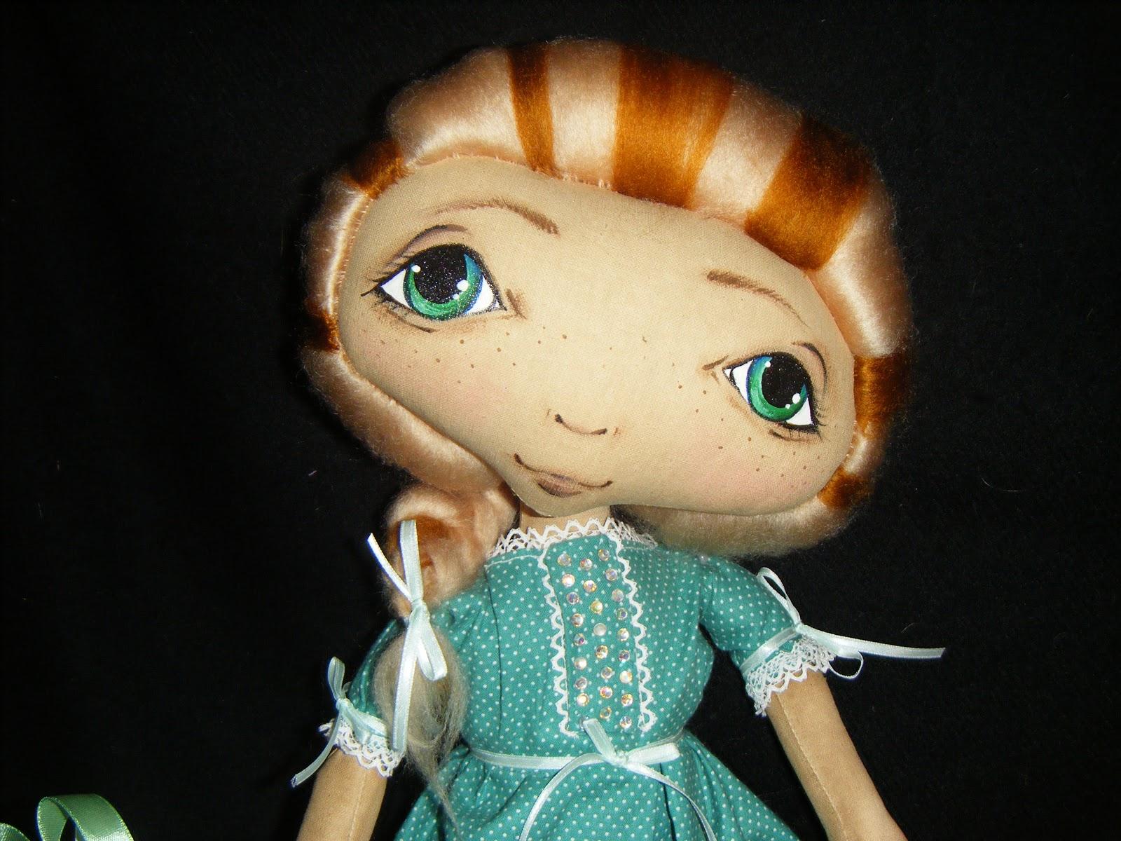 Как сделать у куклы кудри