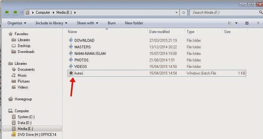 Trik Membuat Password Pada Folder Dengan Notepad