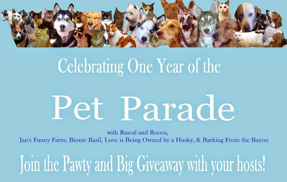 #PetParade Anniversary #Pawty & Big #Giveaway for #petlovers, #cats, #dogs, #animallovers #gifts #bloghop