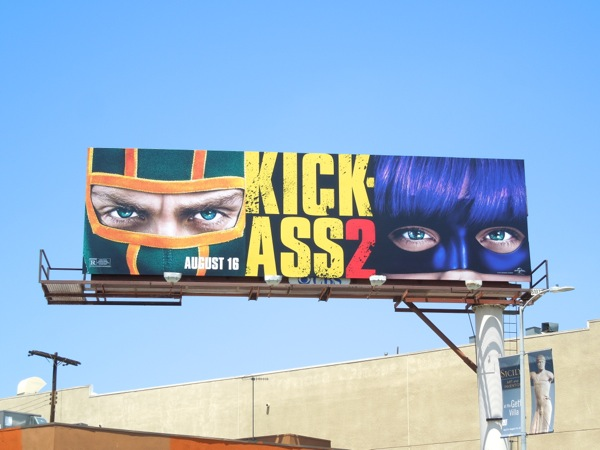 Kick-Ass 2 billboard