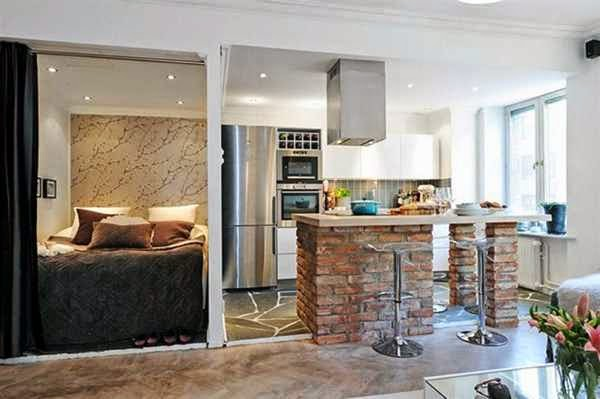 cute pinterest studio apartment ideas
