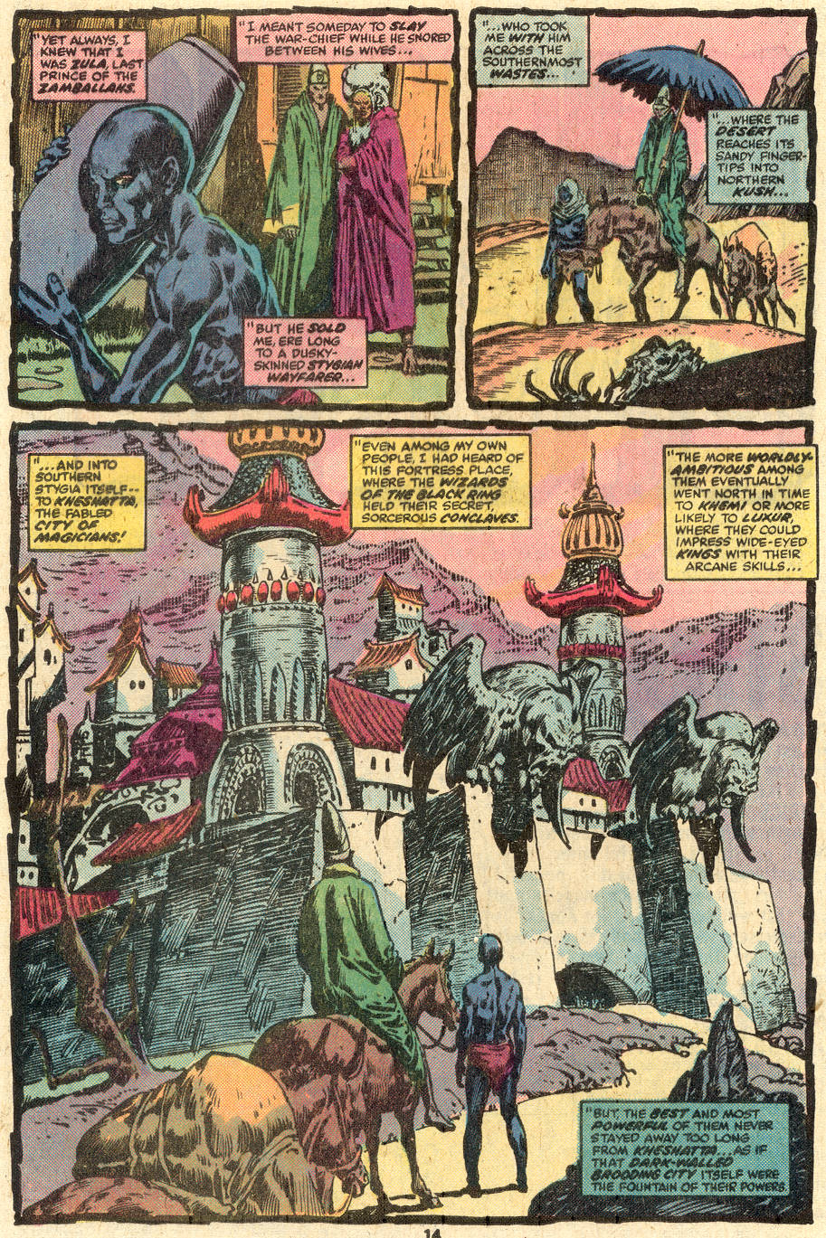 Conan the Barbarian (1970) Issue #85 #97 - English 9