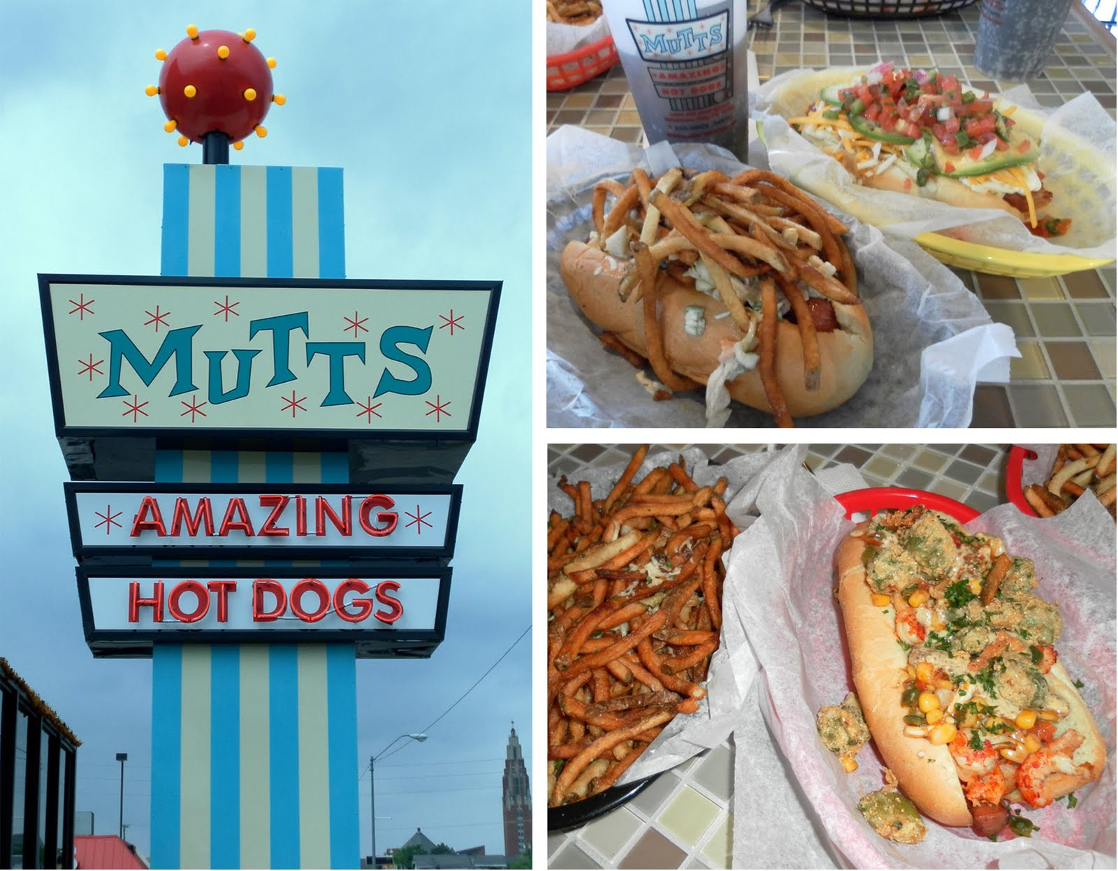 Mutts Hot Dogs Menu