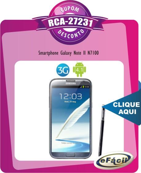 Smartphone Samsung Galaxy Note II N7100