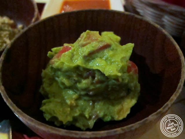 image of Traditional guacamole at Toloache in NYC, New York