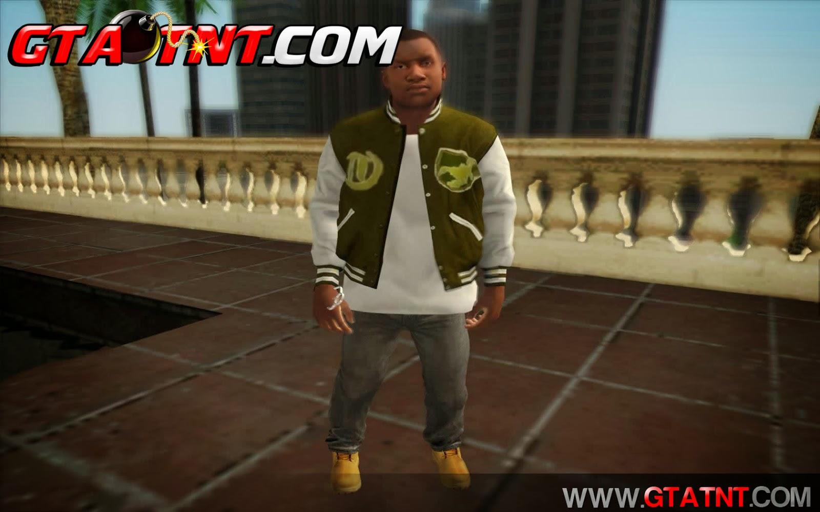 GTA SA - Skins Franklin do GTA 5