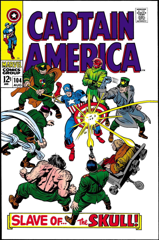 Captain America (1968) Issue #104 #18 - English 1