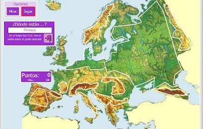 MAPA INTERACTIVO EUROPA FSICO  Creciendo Responsables
