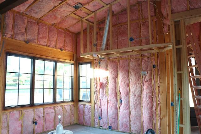 fiberglass batt insulation install