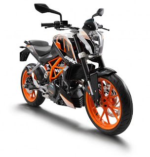 KTM 390 Duke was launched in Pune, India on 25 June, 2013