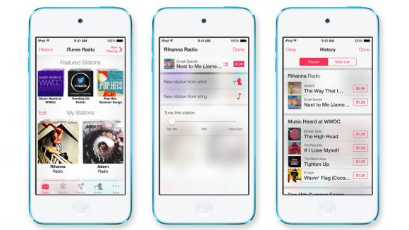 Apple iTunes Radio Release Date, features and News 2013