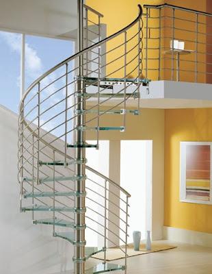 model tangga rumah 45