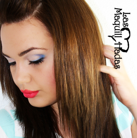 Look del Dia [LDD] - Tendencias 2011: Azul [+ Tutorial Maquillaje ...