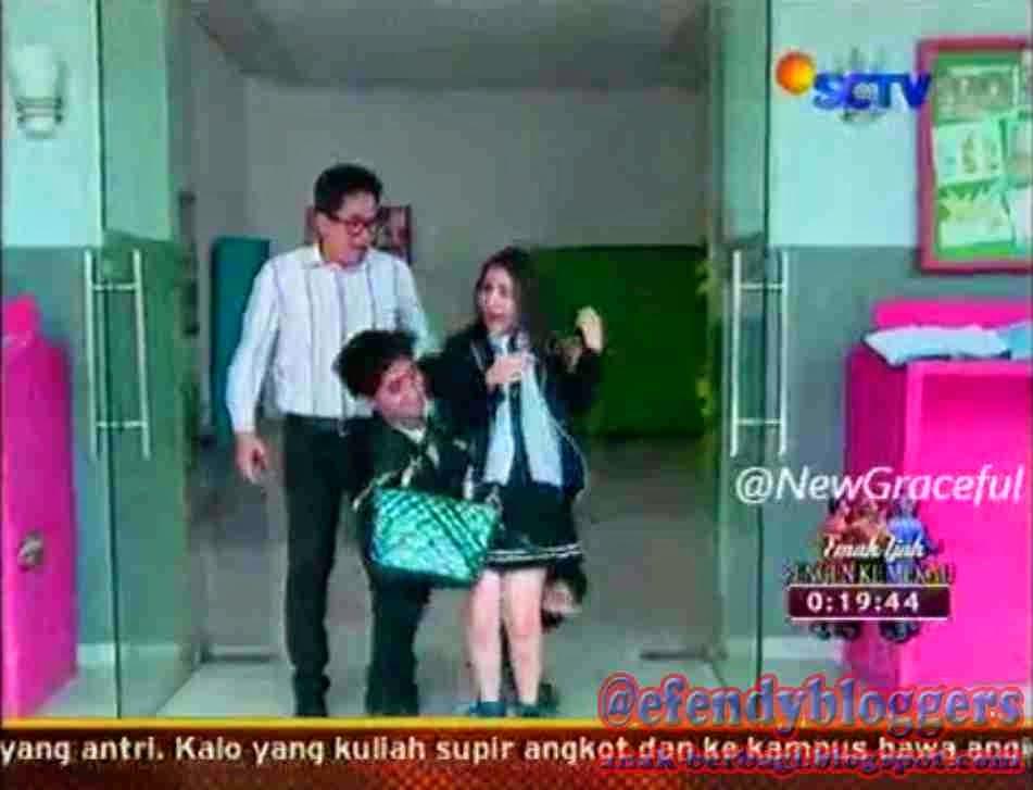 Foto Romantis Aliando Dengan Prilly Di GGS SCTV