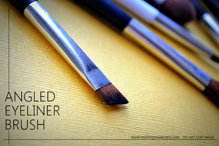7 Must Have Basic Essential angled flat fluffy crease blending smudger pencil Eyeshadow Eyeliner Makeup Brushes Indian beauty Blog