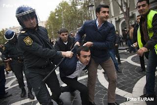 azerbaijan clashes aliyev azerbaijani protest