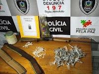 Operações desarticulam grupos suspeitos de tráfico e roubo a bancos na Paraíba