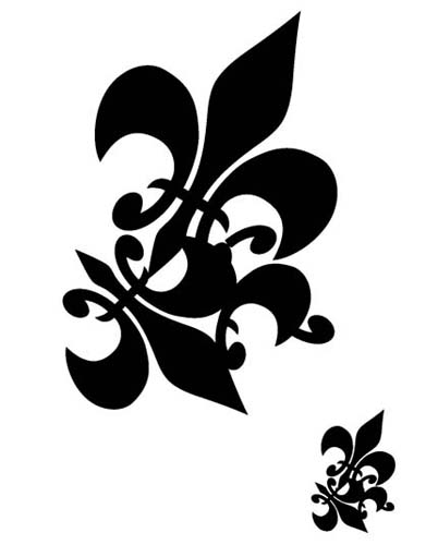 Another interesting fact about the Fleur De Lis was told by French historian