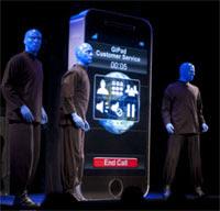 Blue Man Group's new GiPad