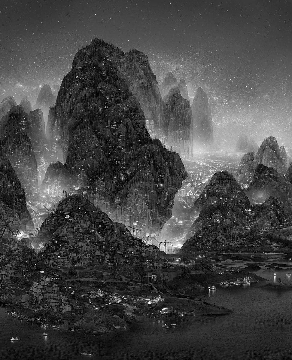 nuncalosabre. Arte | Art - ©Yang Yongliang