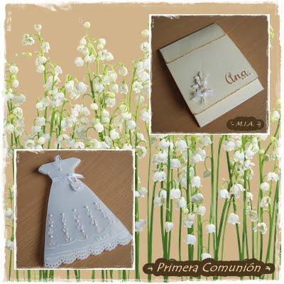 Ramo de flores de comunion aprender manualidades es - Manualidades para comunion ...