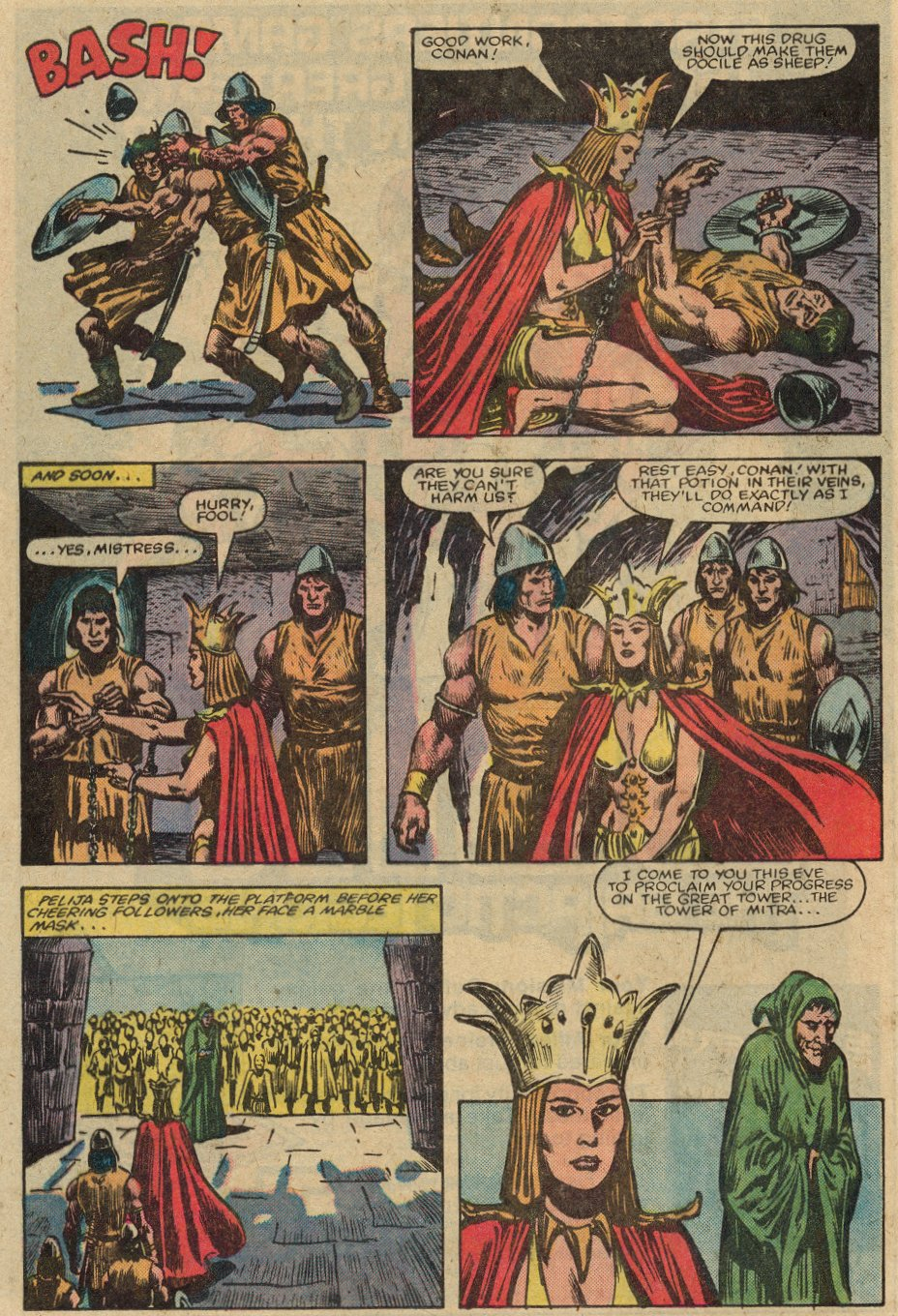 Conan the Barbarian (1970) Issue #147 #159 - English 19
