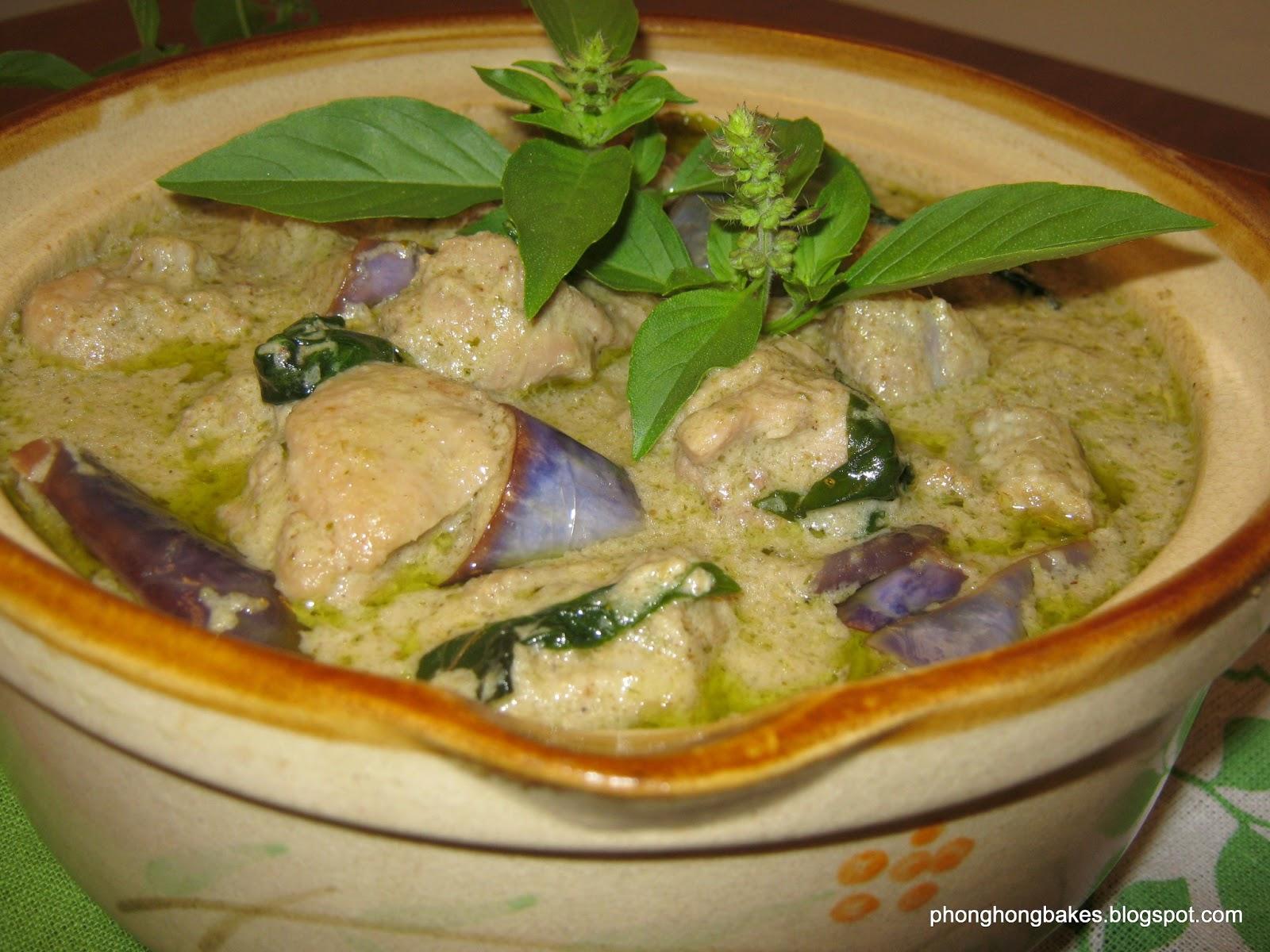 Green Curry Chicken (Opor Ayam Hijau) - Fresh Food Recipes