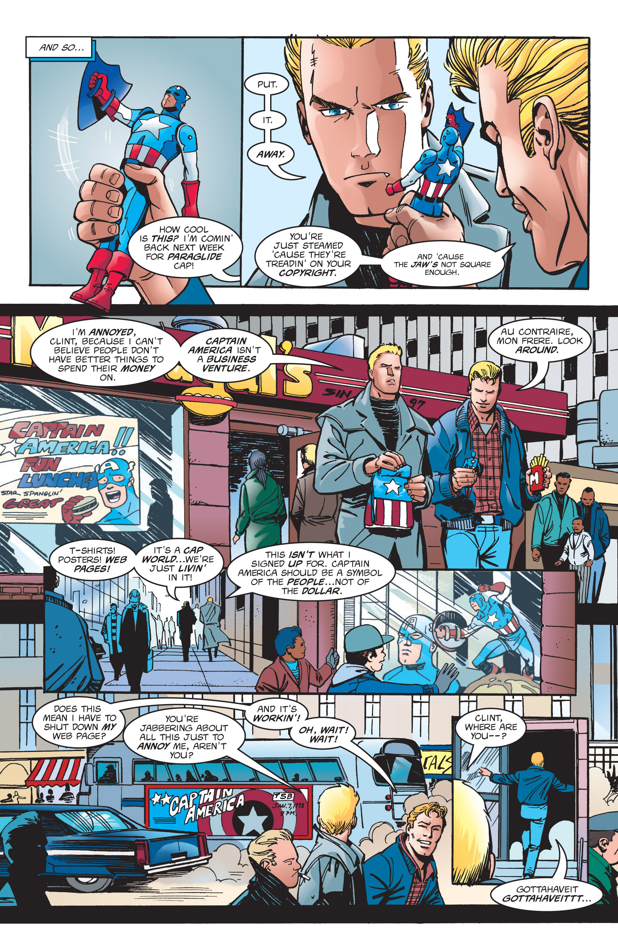 Captain America (1998) Issue #4 #7 - English 6