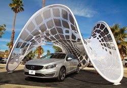 Huang Pure Tension Pavillion Solar Charging Station Lani Garfield